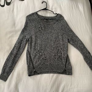Distressed Express Sweater